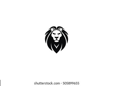 animal lion vector icon logo