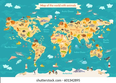 Cute Usa Map.Kids Usa Map Stock Illustrations Images Vectors Shutterstock