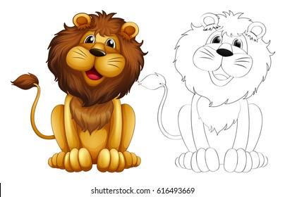lion clipart images stock photos vectors shutterstock rh shutterstock com lion clipart black and white lion clipart vector