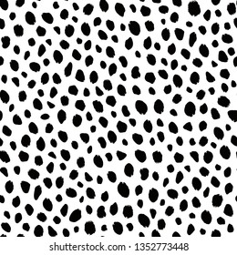 animal pattern texture repeating seamless monochrome black and white. Fashion and stylish background