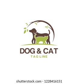 animal pet logo vector