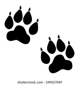 Lion Paw Print Outline / Download 2,403 lion paw free vectors.