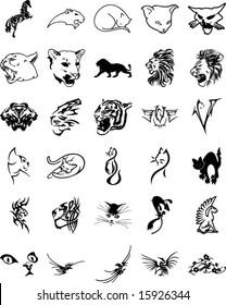 Animal tribal