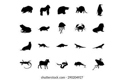 Animal Vector Icons 4