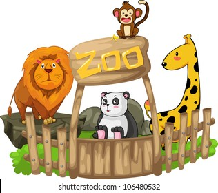 91 Foto Gambar Kartun Zoo Kekinian