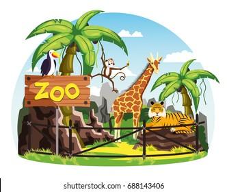 Zoo Images Stock Photos Vectors Shutterstock