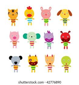 animals horoscope card