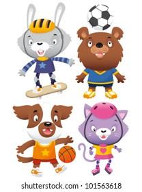Animals playing sports/Sporty animals