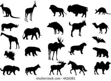 Animals (vector)