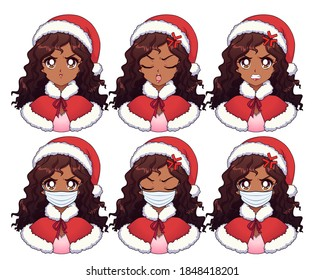 Christmas Anime Images Stock Photos Vectors Shutterstock