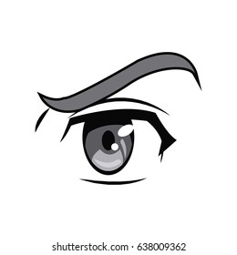 anime eyes images stock photos vectors shutterstock