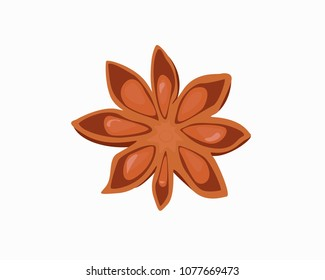 Anise icon. Anise star, spice.