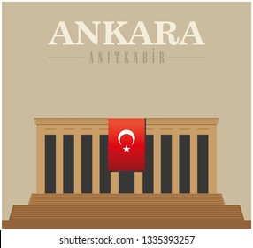 Anitkabir, the Turkish War of Independence, the leader of the Revolution and the first president of Turkey, Mustafa Kemal Ataturk's mausoleum in Ankara is located Anıttepe.
