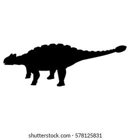 Ankylosaurus Silhouette