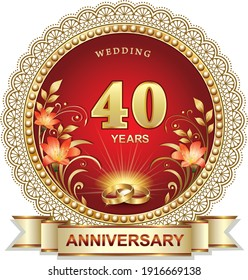 40th Wedding Anniversary Hd Stock Images Shutterstock