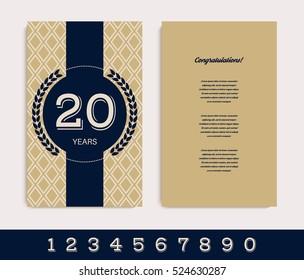 60th Birthday Invitation Card Stock Vectors Images Vector