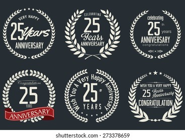 Anniversary label collection, 25 years