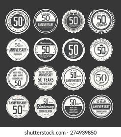 Anniversary label collection, 50 years