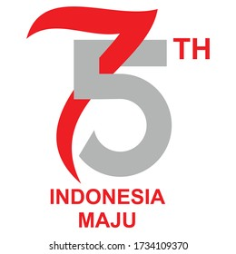 anniversary logo republic indonesia independence 260nw 1734109370