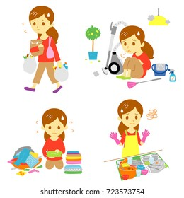 Household Chores Images, Stock Photos & Vectors   Shutterstock