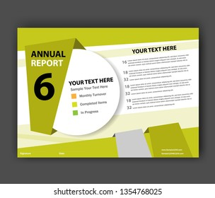Annual report Brochure design template vector. Business Flyers infographic magazine poster. Abstract layout template ,Book Cover presentation portfolio