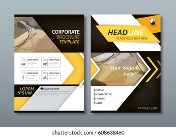 Blue annual report brochure flyer design stock vector royalty free annual report brochure flyer design template vector leaflet presentation book cover templates layout reheart Image collections
