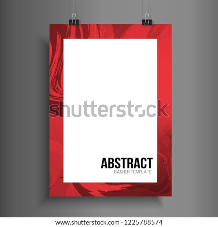 annual report brochure flyer template abstract stock vector royalty