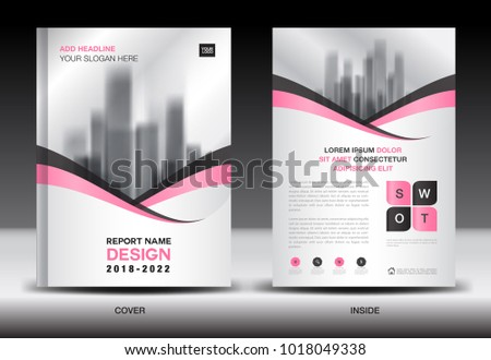 annual report cover design brochure flyer stock vector royalty free
