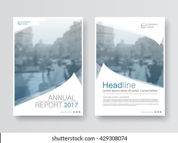 Annual report, flyer, presentation, brochure. Front page report , book cover layout design. Design layout template in A4 size . Abstract business cover templates