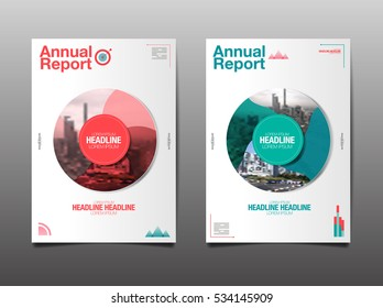 annual report ,future, business, template layout design, cover book. vector illustration,presentation ,Circle Abstact Background.