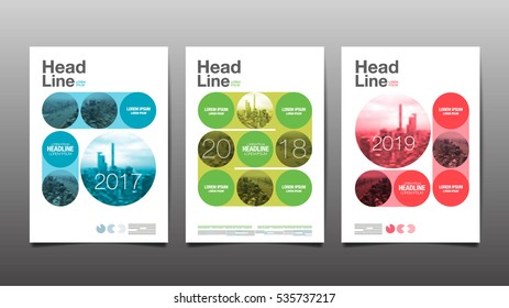 annual report ,future, business, template layout design, cover book. vector illustration,presentation ,Circle Abstact Background