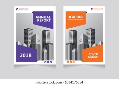 Annual report, pamphlet, presentation, brochure. Front page, book cover layout design. Cover design template.