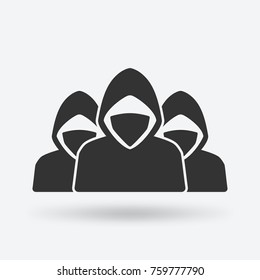 anonymous army concept. vector illustration - eps 10