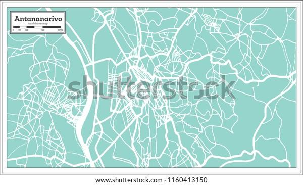 Antananarivo Madagascar City Map Retro Style Stock Vector ... on sherbro island map, mbabane map, monrovia map, niamey map, cairo map, asmara map, kampala map, malabo map, masoala national park map, lilongwe map, pretoria map, casablanca map, harare map, kinshasa map, bujumbura map, maseru map, lagos map, dar es salaam map, johannesburg map, al hasakah map,