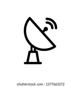 Antenna icon, vector illustration. Flat design style. vector antenna icon illustration isolated on white, antenna icon Eps10. antenna icons graphic design vector symbols.