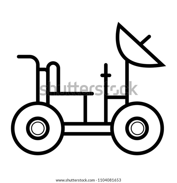 antenna transport icon vector