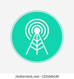 Antenna vector icon sign symbol