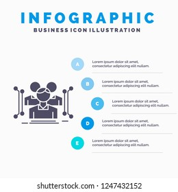 Anthropometry, body, data, human, public Infographics Template for Website and Presentation. GLyph Gray icon with Blue infographic style vector illustration.
