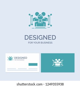 Anthropometry, body, data, human, public Business Logo Glyph Icon Symbol for your business. Turquoise Business Cards with Brand logo template.