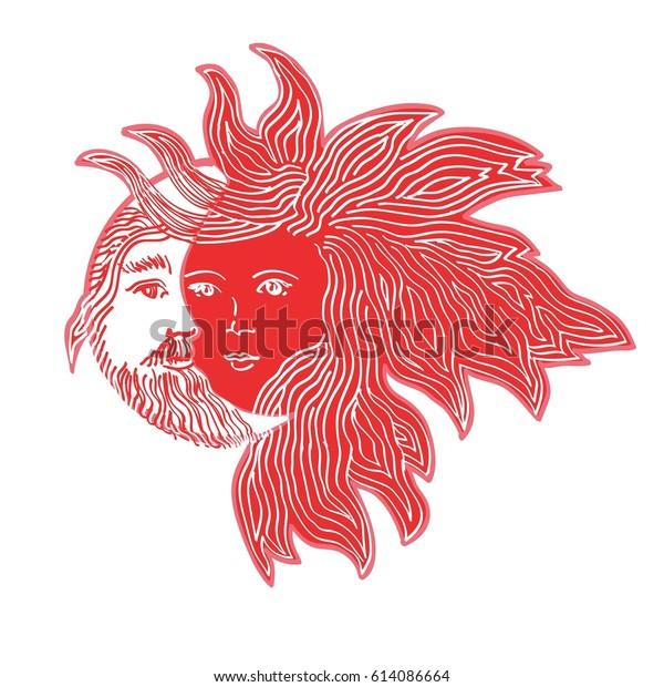man sun woman moon astrology