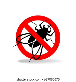 Anti fly vector simple sign for insecticide