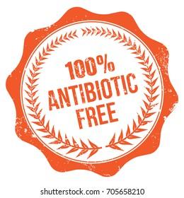 Antibiotic Free Stamp