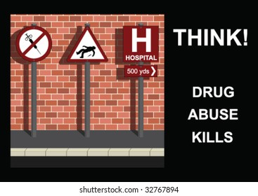 Anti-drug Message