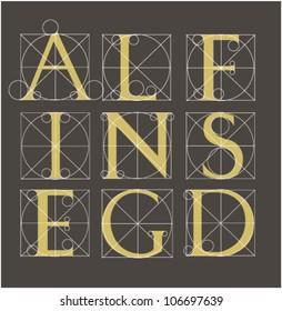 antikvenny font