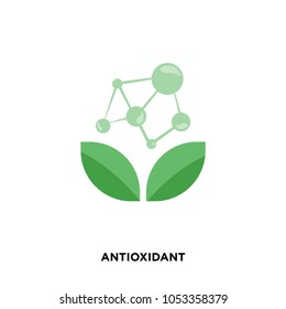 antioxidant icon isolated on white background for your web, mobile and app design, antioxidant icon concept