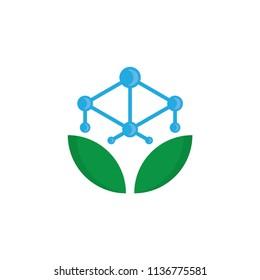 Antioxidant icon isolated on white background. Antioxidant logo vector.