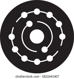 Antioxidant icon for medical icon set, antioxidant vector icon, medical icon