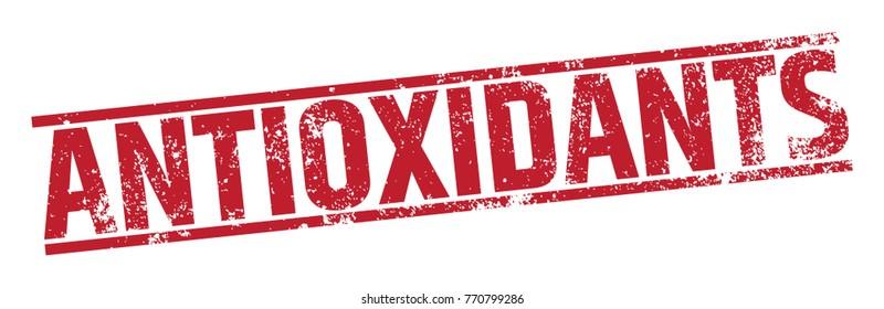 Antioxidants Rubber Stamp