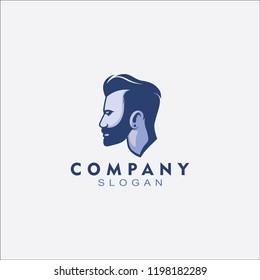 Antique Barbershop Logo for business
