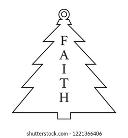 Antique Christmas Tree Ornament.
